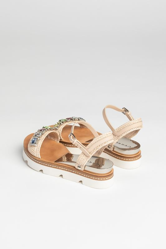 sandały svarowski casadei